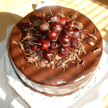 Triple Chocolate with Cherries